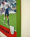 Football Art on Canvas - 1