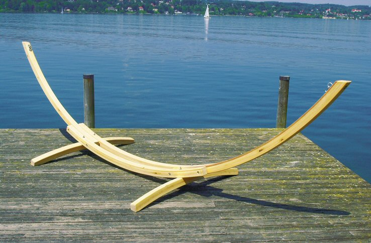 Деревянная подставка для гамака размеры