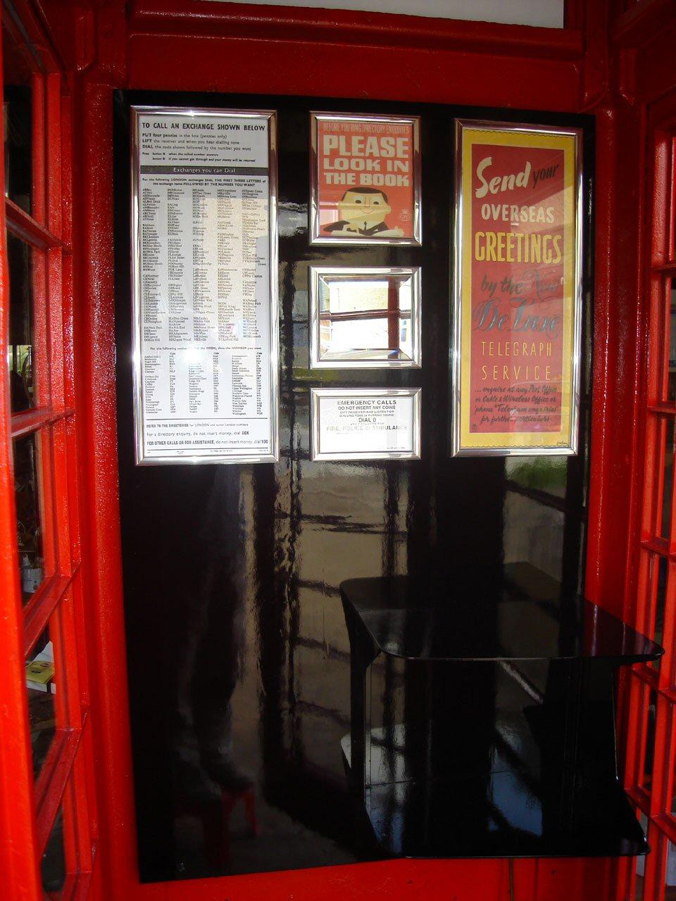 K6 Jubilee Telephone Boxes
