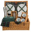 Gordon 4 Person Tea Picnic Basket
