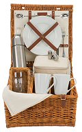 Natural Tea Picnic Basket - 2 Person