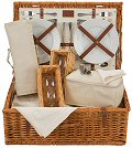 Natural Wine Lovers Picnic Basket - 4 Person