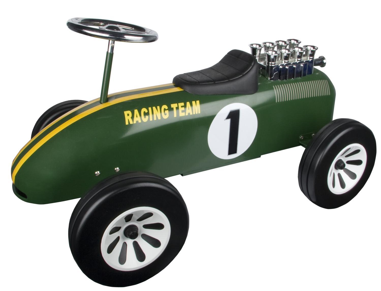 in British Racing Green.