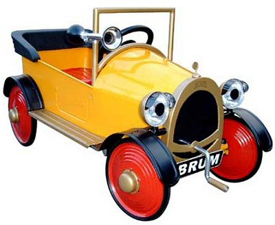 http://www.robertopiecollection.com/Application/images/pedcars/Brum-pedal-car-md.jpg