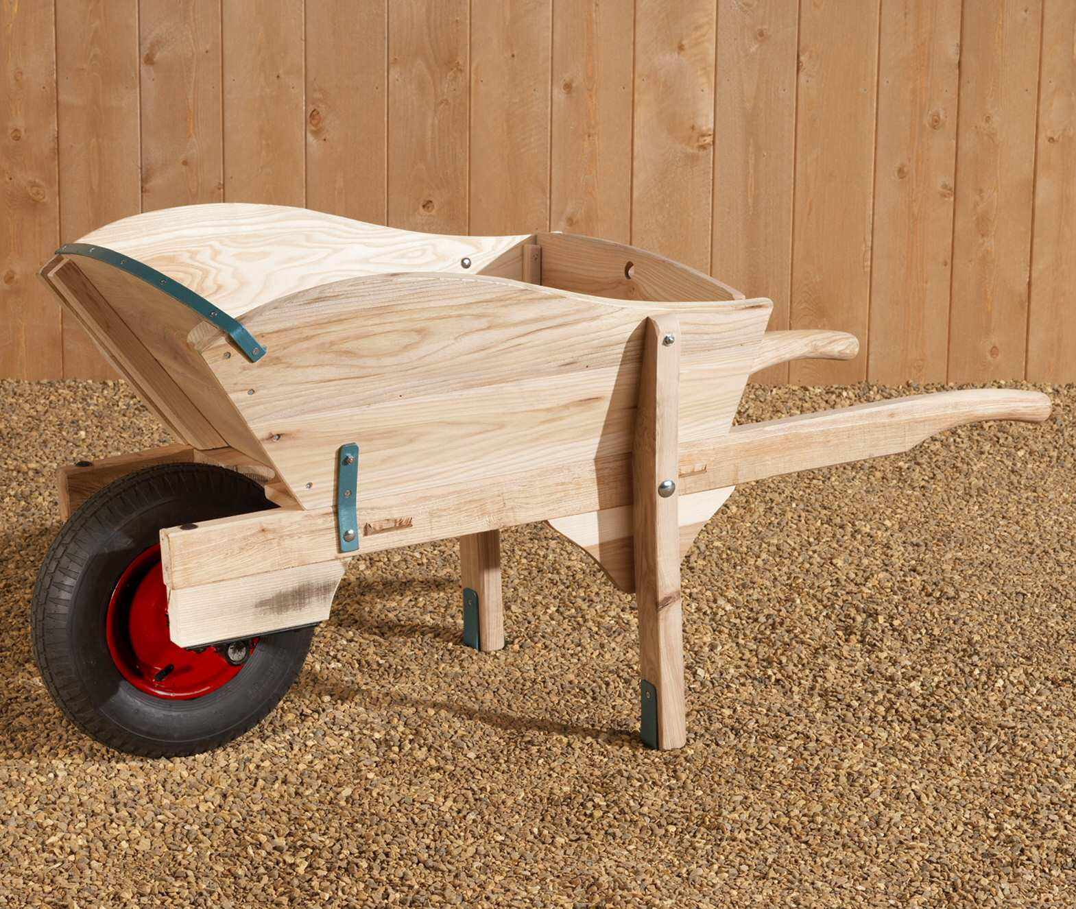 Make Wooden Wheelbarrow