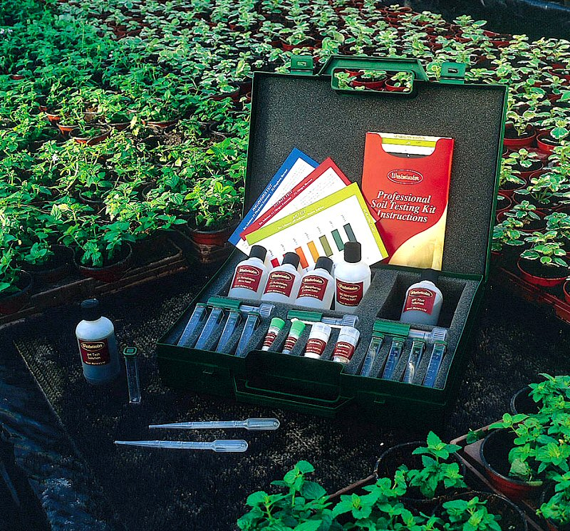 FREE soil collection kit...